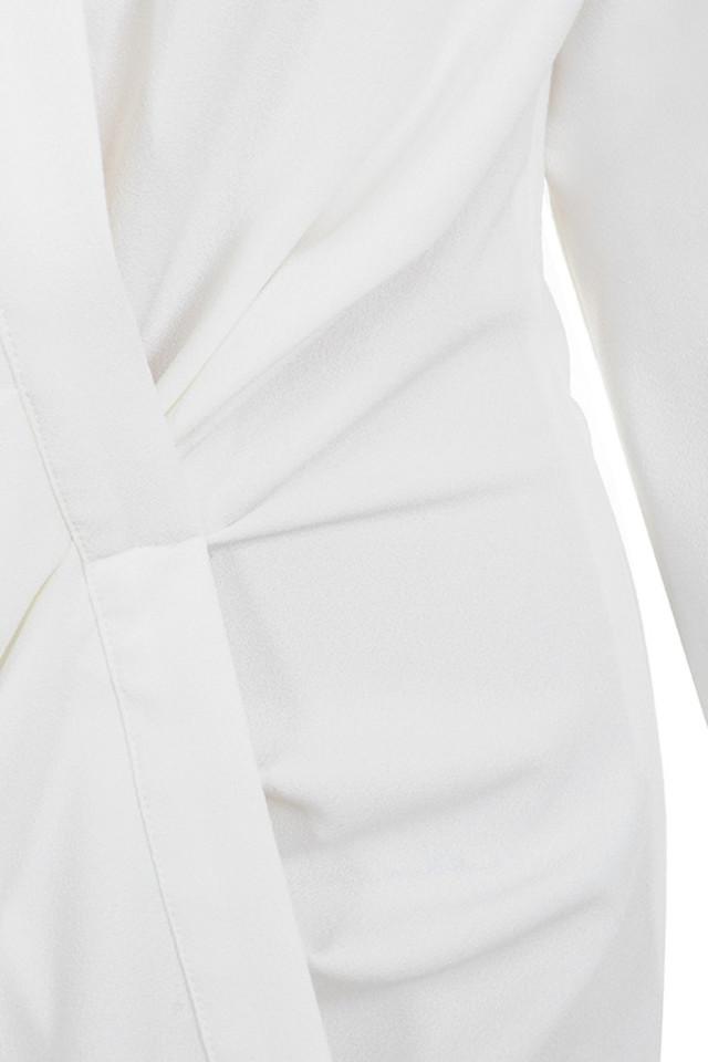 white assata dress