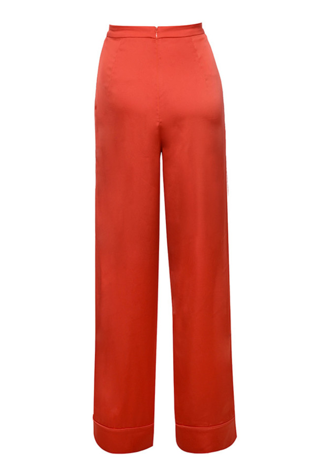 ayain trousers in orange