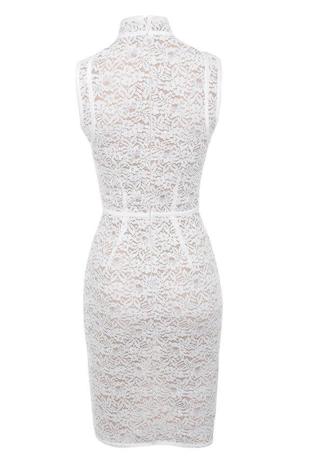 caitlyn dress in white