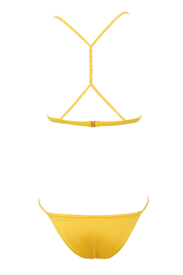 cartagena bikini in yellow