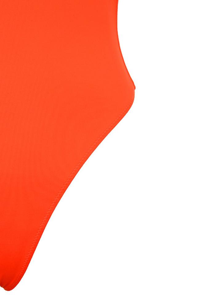 orange cesena bodysuit