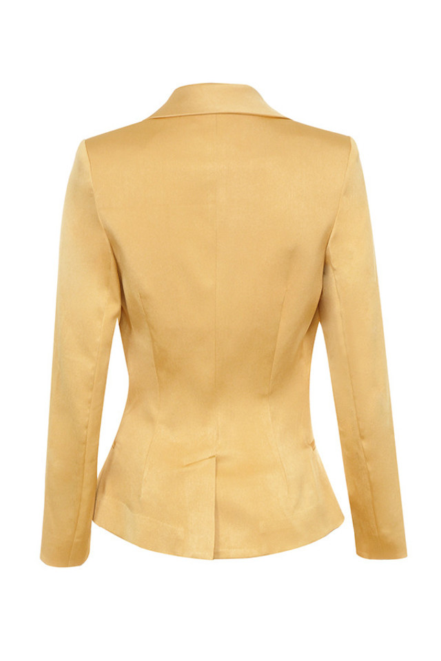 cilou jacket in gold