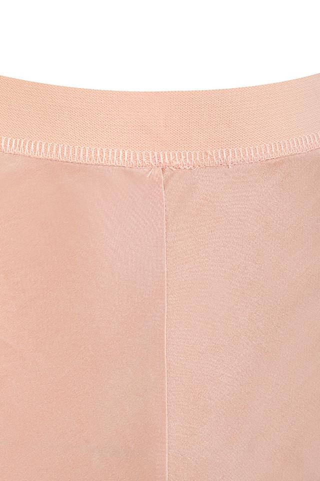 creme haima trousers