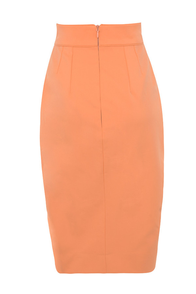 helena skirt in coral