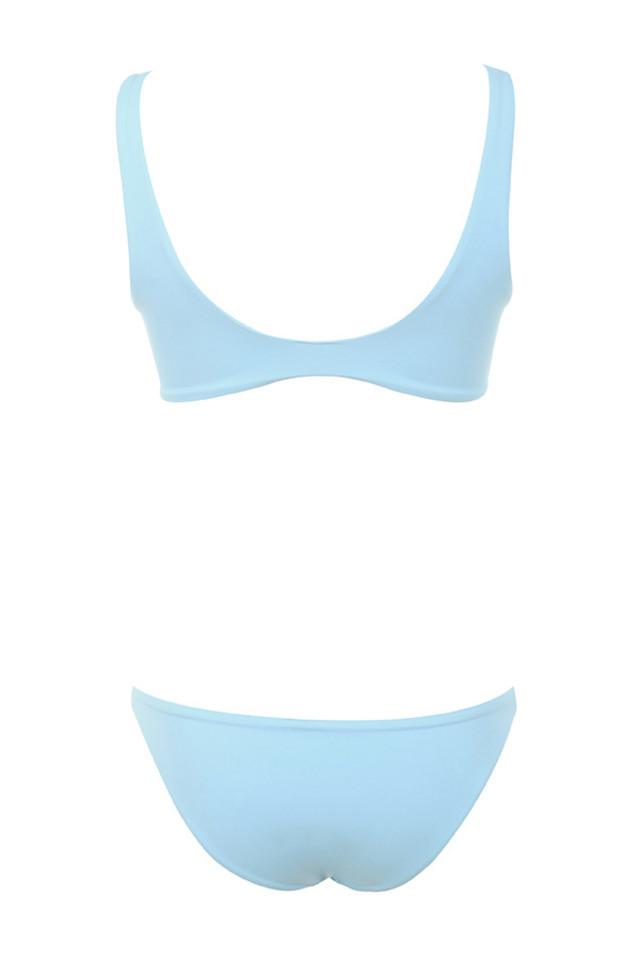 indra bikini in blue