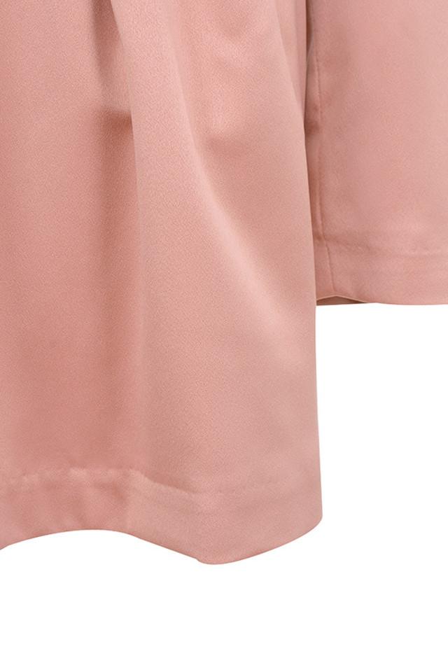 pink mina dress