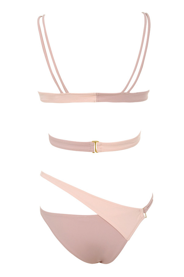 san juan bikini in blush