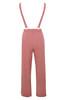 abbi jumpsuit in rose