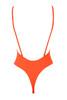 cesena swimsuit in orange