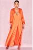 Louisette Dark Orange Smock Dress