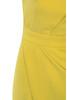 yellow uma dress