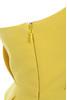 uma yellow dress