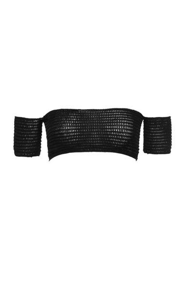 tatiana top in black