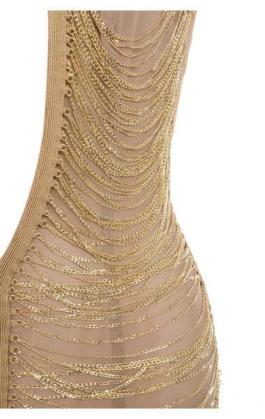 gold anouk dress