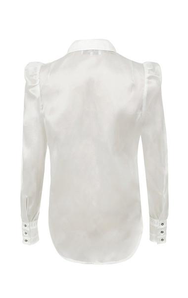 aude dress in white