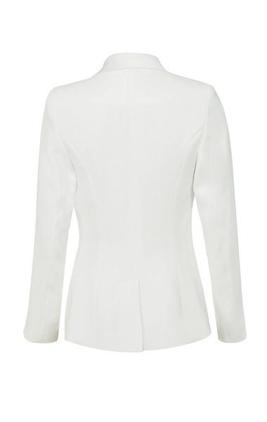 grazia jacket in white