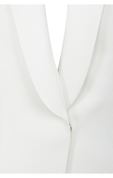 grazia white jacket