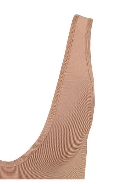 lois bodysuit in camel