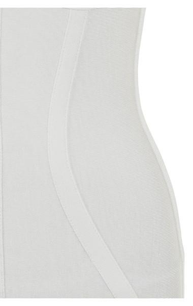 white tamura dress