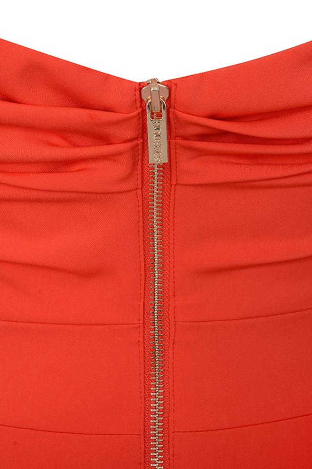anaelle orange dress