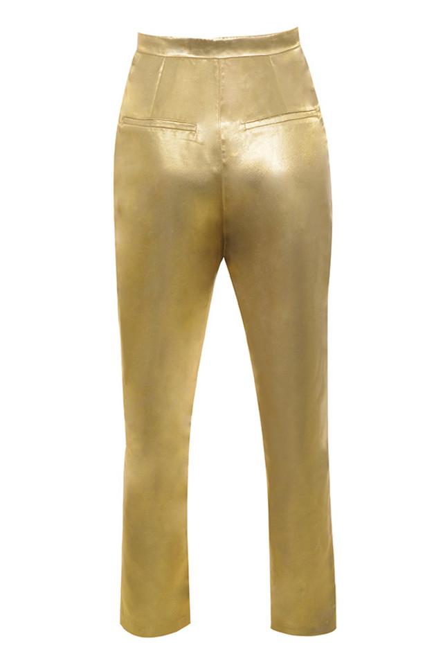 dawna trousers in gold