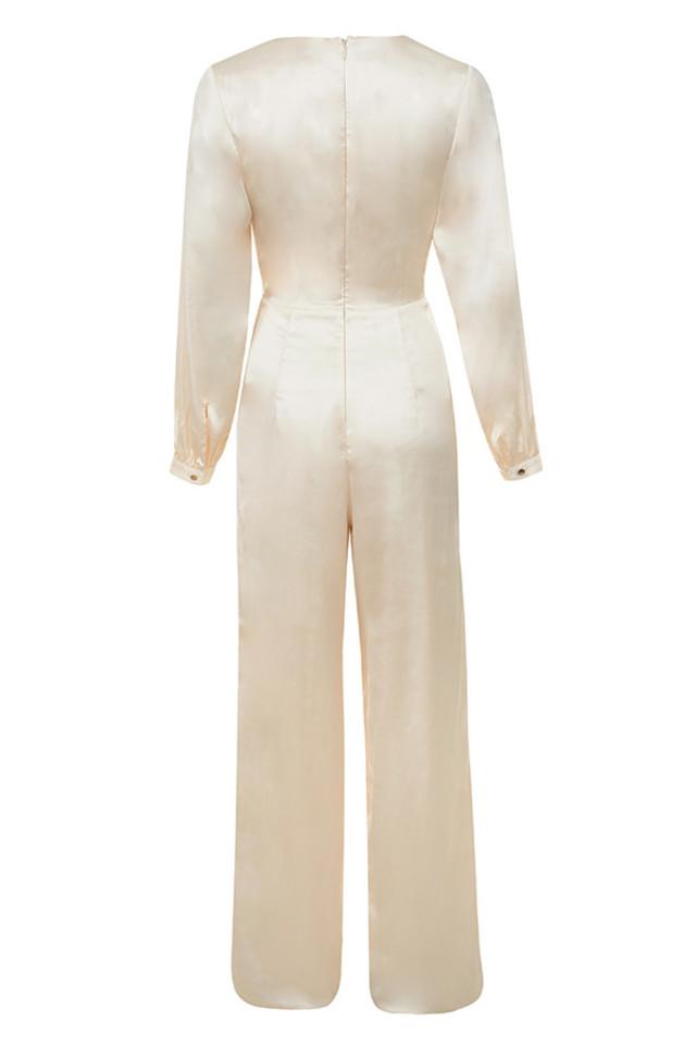 elara jumpsuit in cream