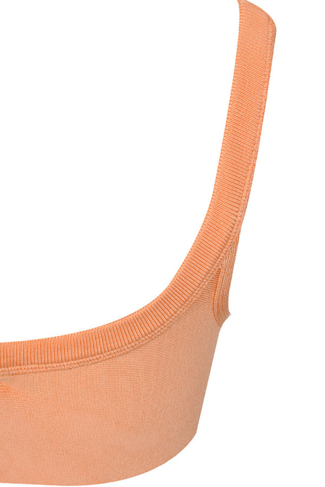 peach elle top