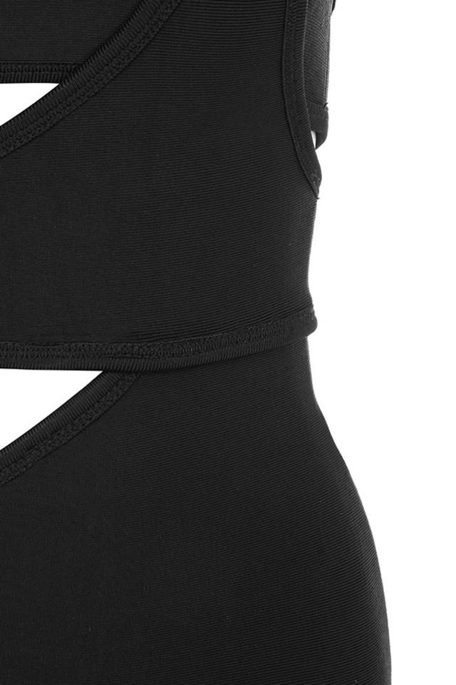 black miya dress