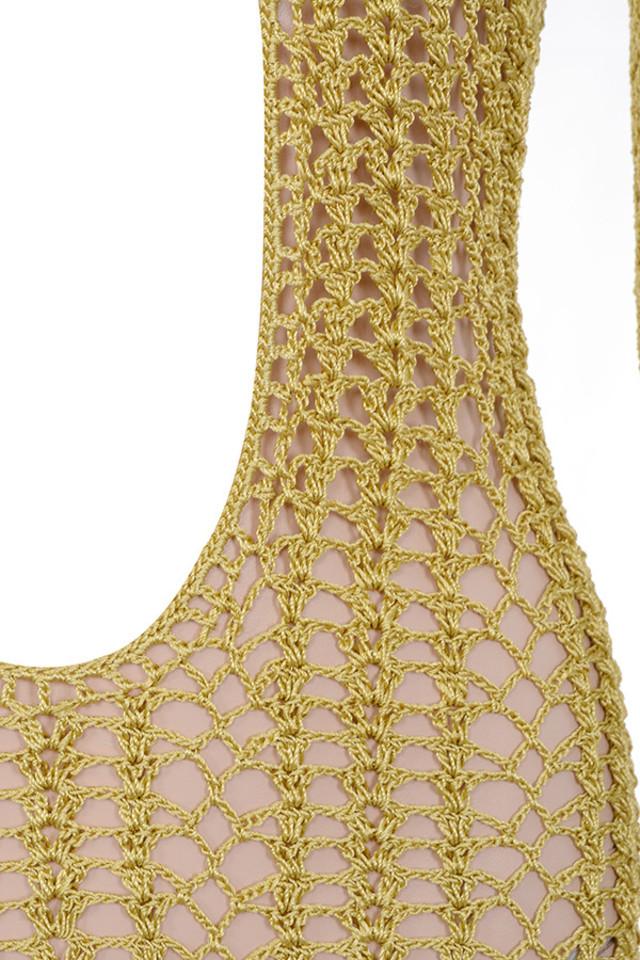 gold theone dress