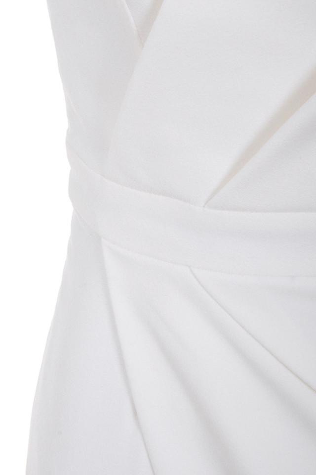 white uma dress