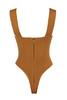 roka bodysuit in tan