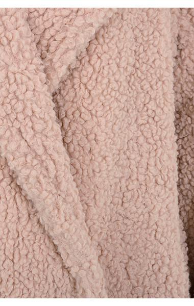 pink bear coat