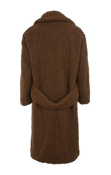 bear jacket in brown