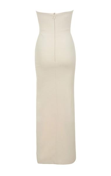 holly dress in blush