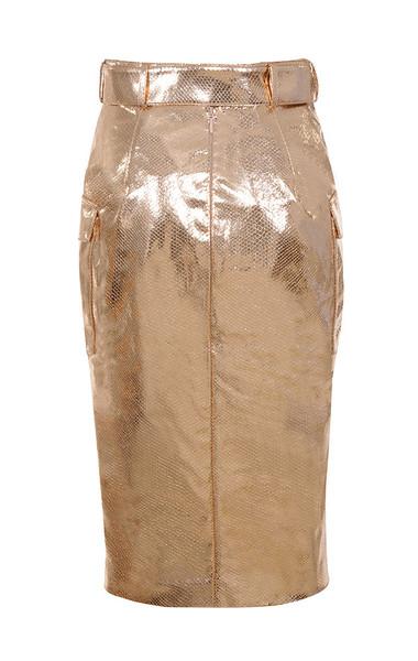kassiana skirt in gold