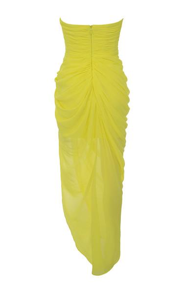 paloma dress in yellow