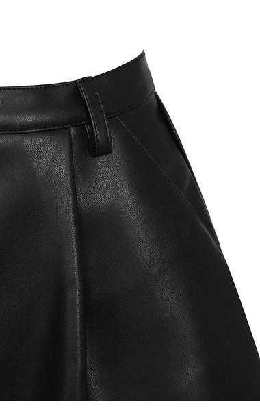 black pandora shorts