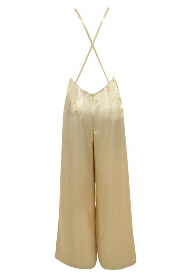 ahmya jumpsuit in gold