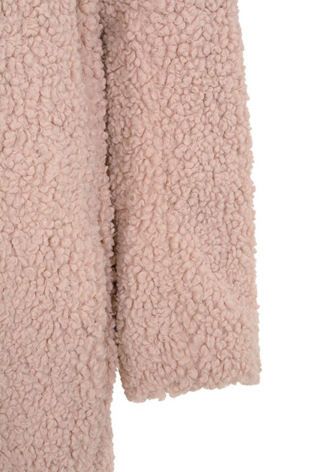 bear pink coat