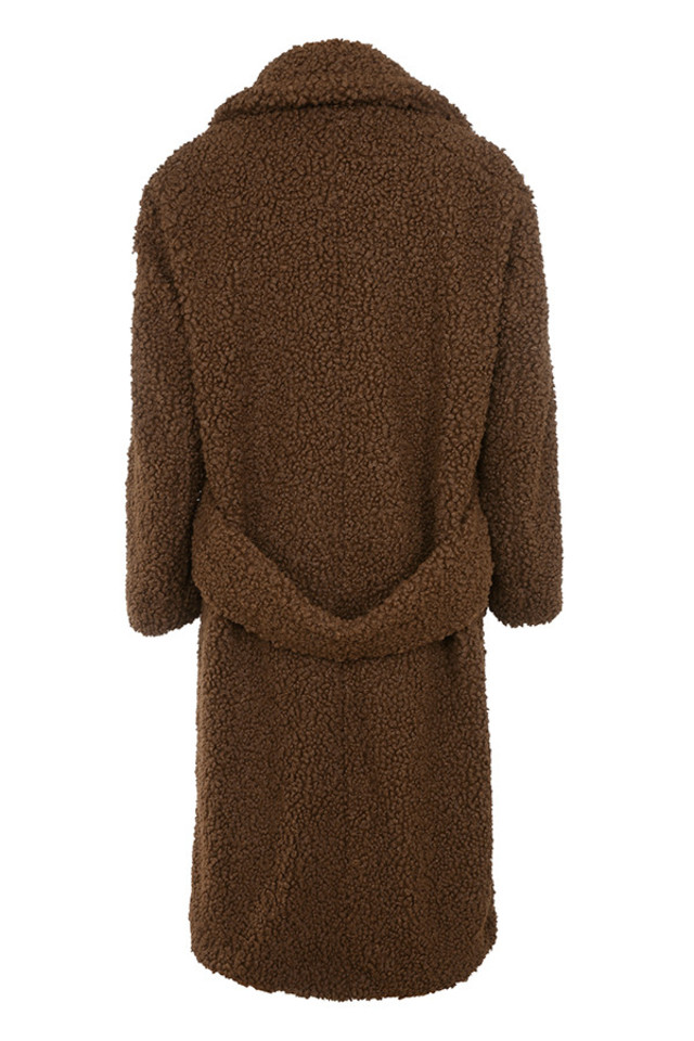 bear jacket in brown