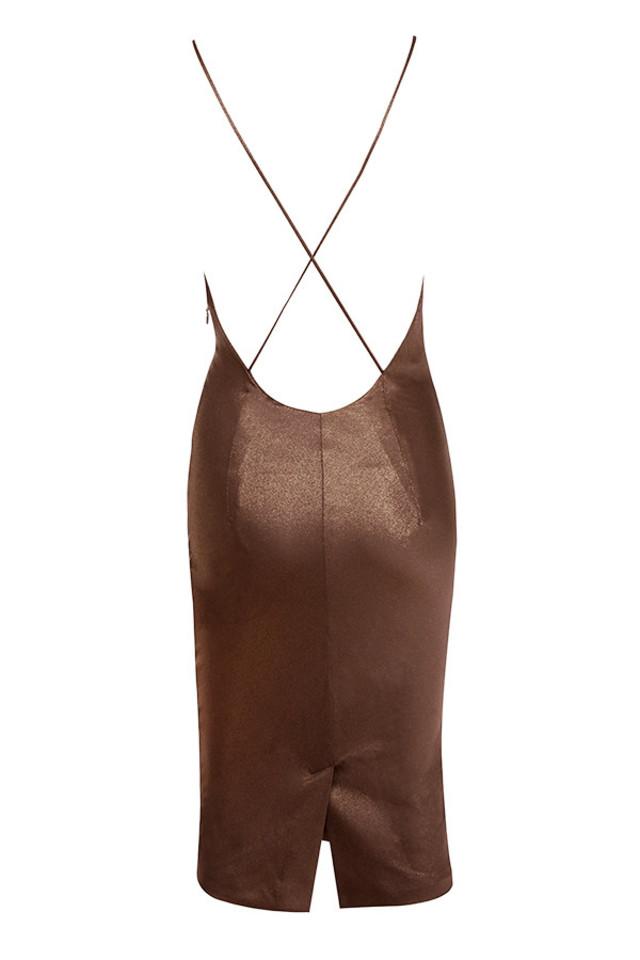 claudia dres in bronze