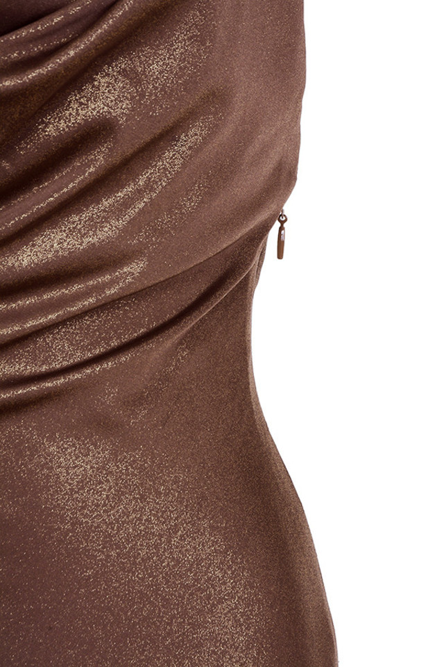 bronze claudia dress