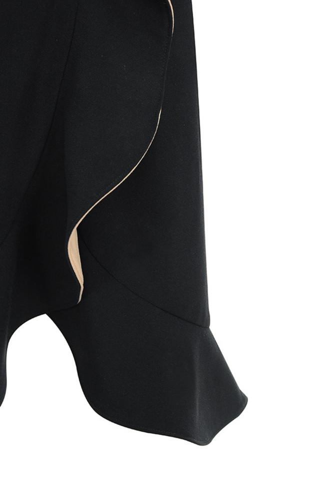 ingrid black dress