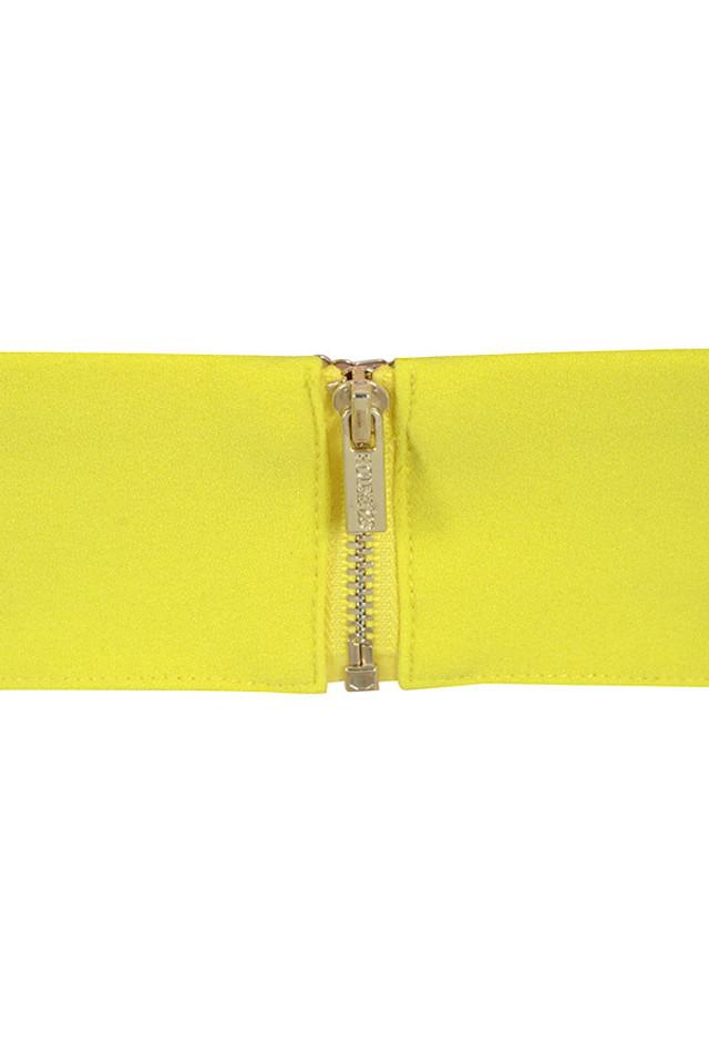 yellow leela top