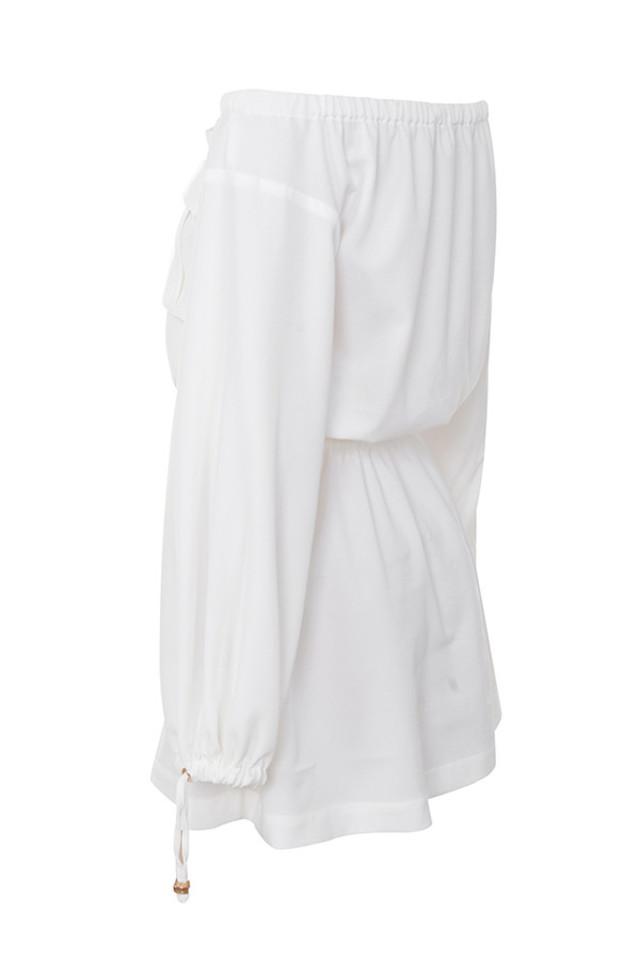 loretta in white