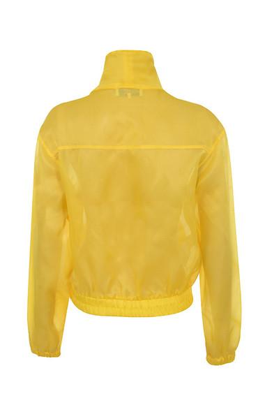 ariya jacket in lemon