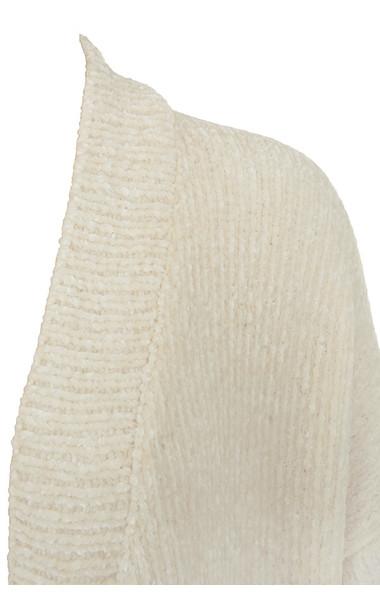 celine cardigan in off white