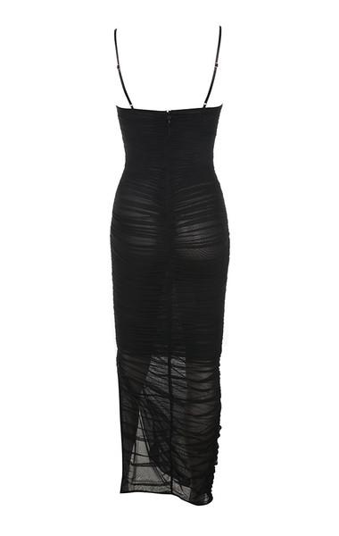 fornarina dress in black