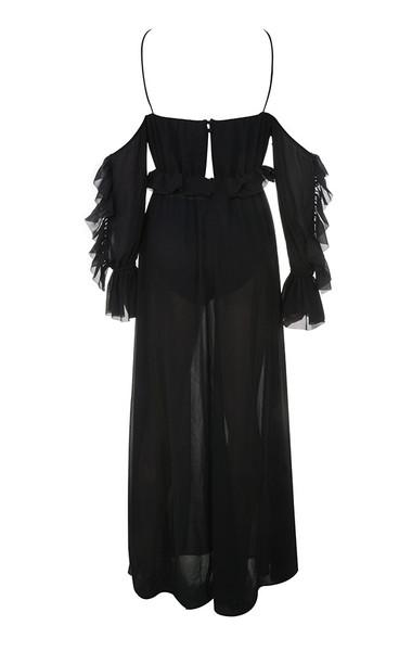 maia dress in black