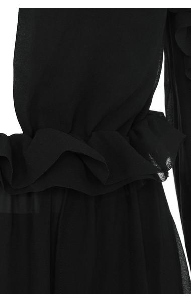 black maia dress